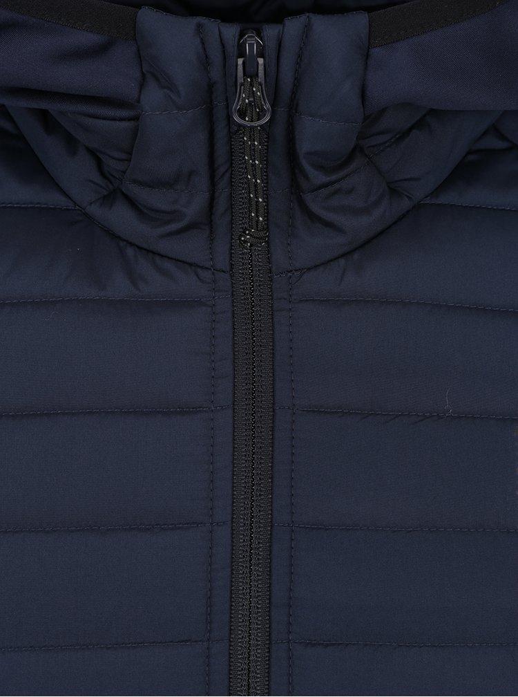 Geaca bleumarin matlasata Jack & Jones Multi Quilted
