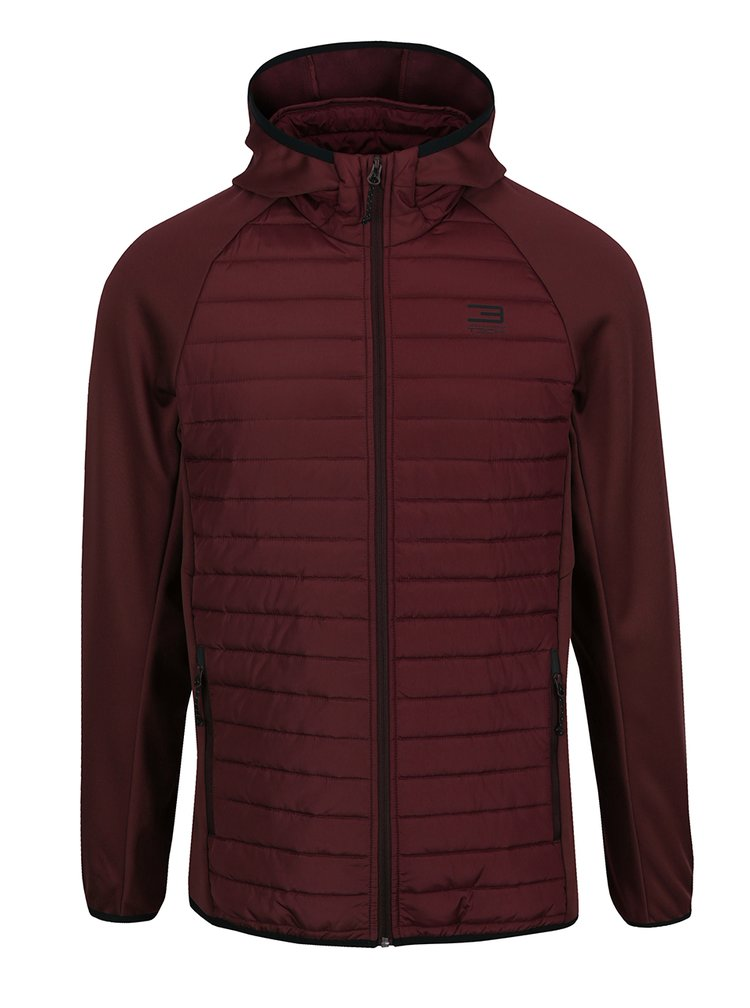 Geaca bordo matlasata Jack & Jones Multi Quilted