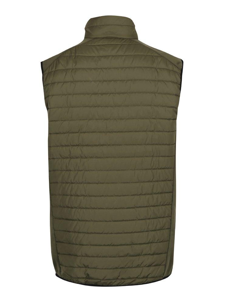 Zelená prošívaná vesta Jack & Jones Tech Multi Body Warmer