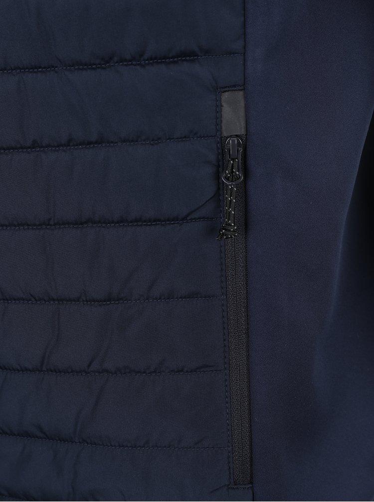 Tmavě modrá prošívaná vesta Jack & Jones Tech Multi Body Warmer