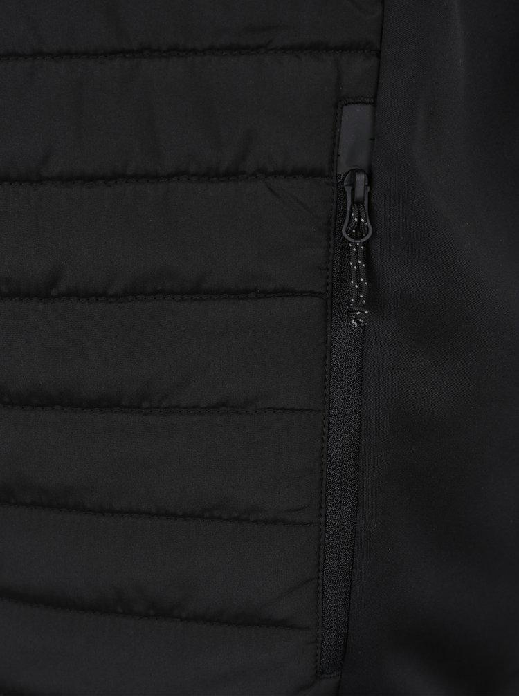 Vesta neagra  matlasata impermeabila Jack & Jones Tech Multi Body Warmer