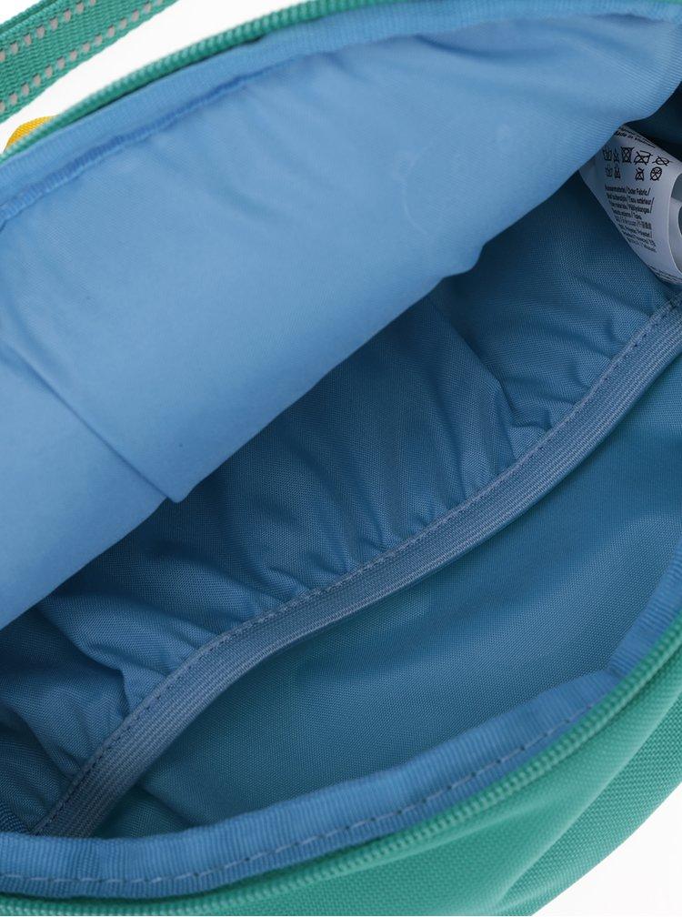 Zelená dětská crossbody taška ve tvaru sovy Affenzahn 2 l