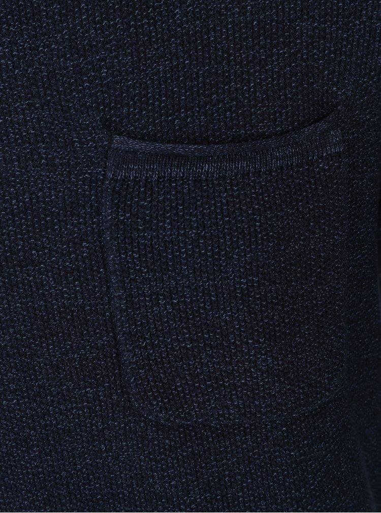 Tmavě modrý svetr Jack & Jones Romero