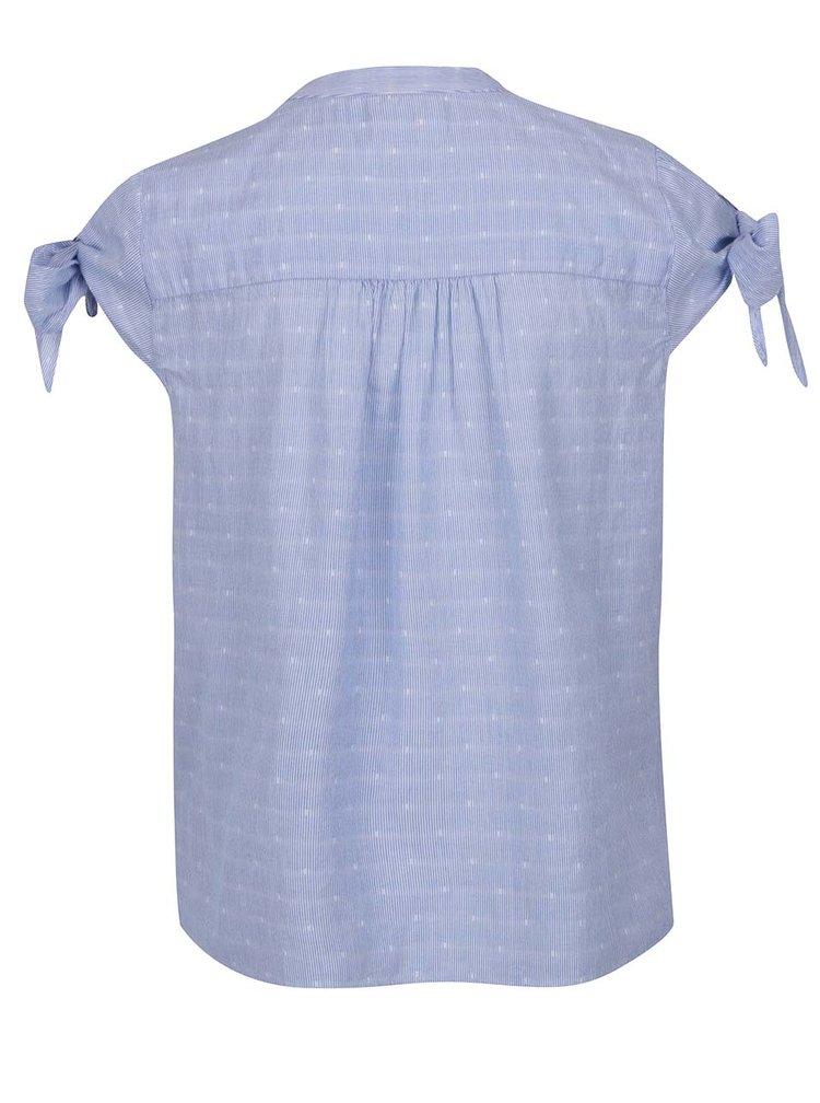 Bluza bleu VERO MODA Dot imprimeu cu dungi