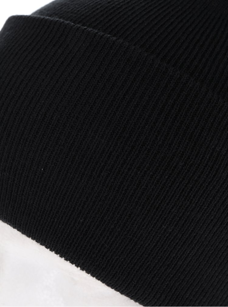 Černá čepice Jack & Jones Jack Beanie
