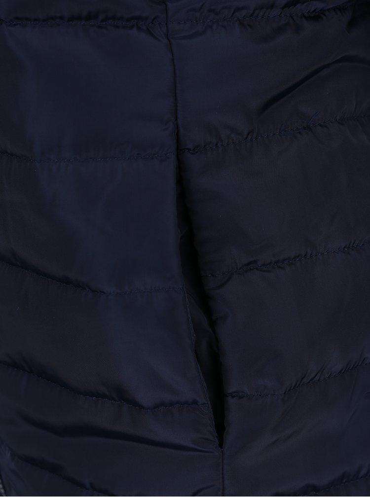 Geaca albastra matlasata Jacqueline de Yong Ash