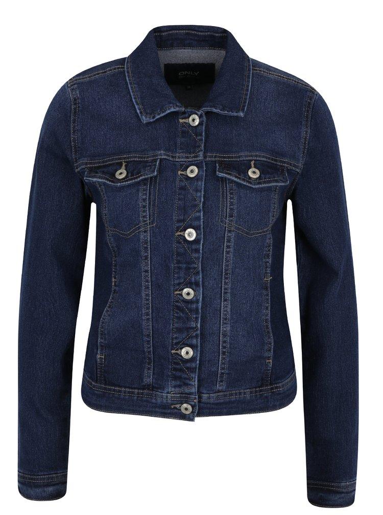 Jacheta bleumarin din denim ONLY Westa