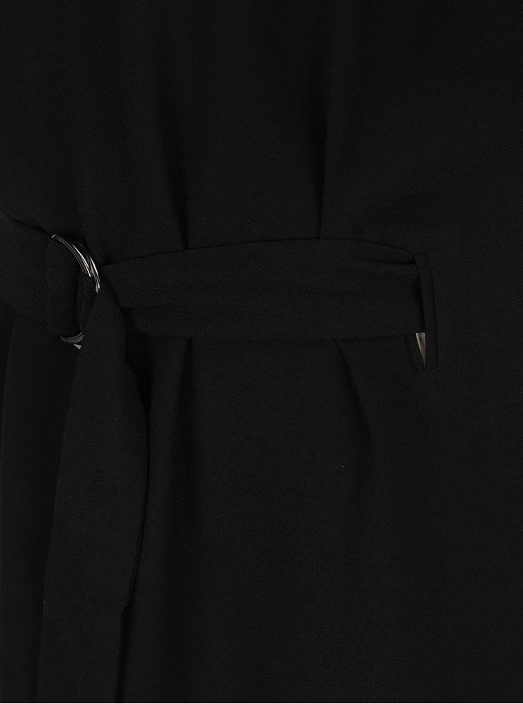Rochie neagră midi cu cordon Selected Femme Newa