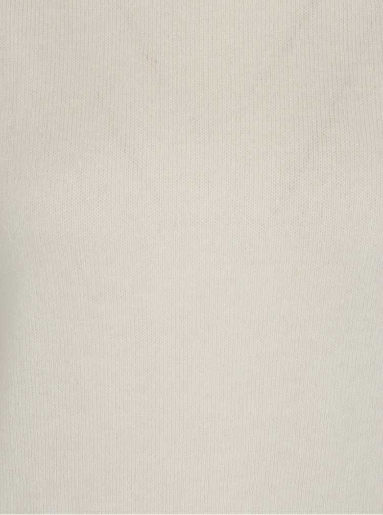 Krémový kašmírový svetr Selected Femme Aya