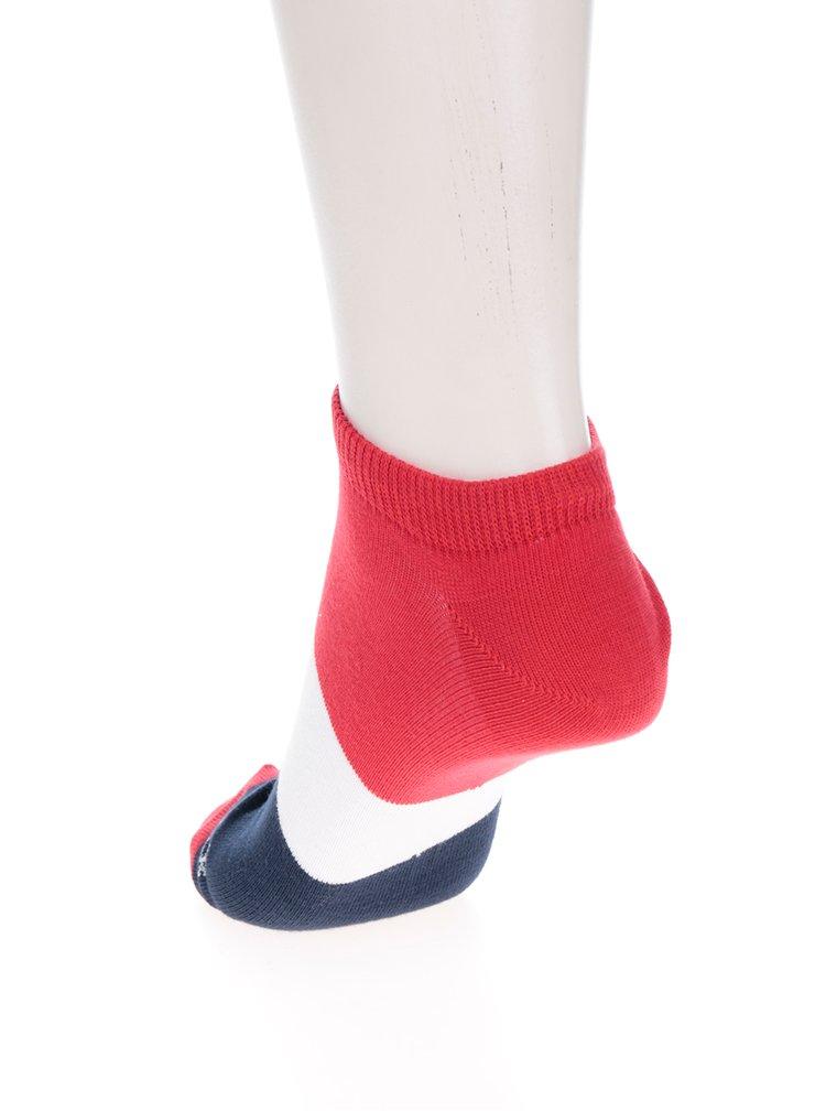 Șosete unisex scurte albastru&rosu Fusakle Jachtár