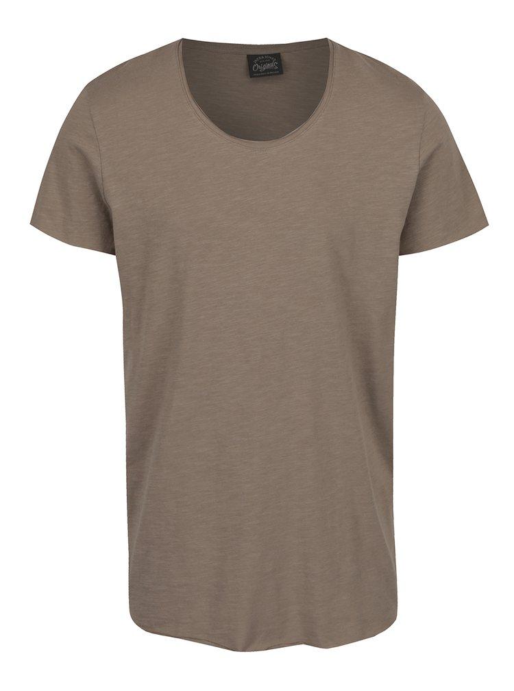 Béžové tričko Jack & Jones Orbas