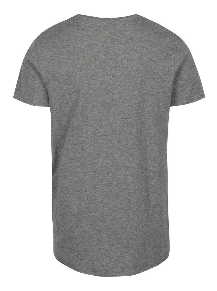 Tricou basic gri Jack & Jones Orbas