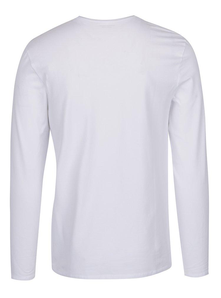 Bluza alba Selected Homme Basic