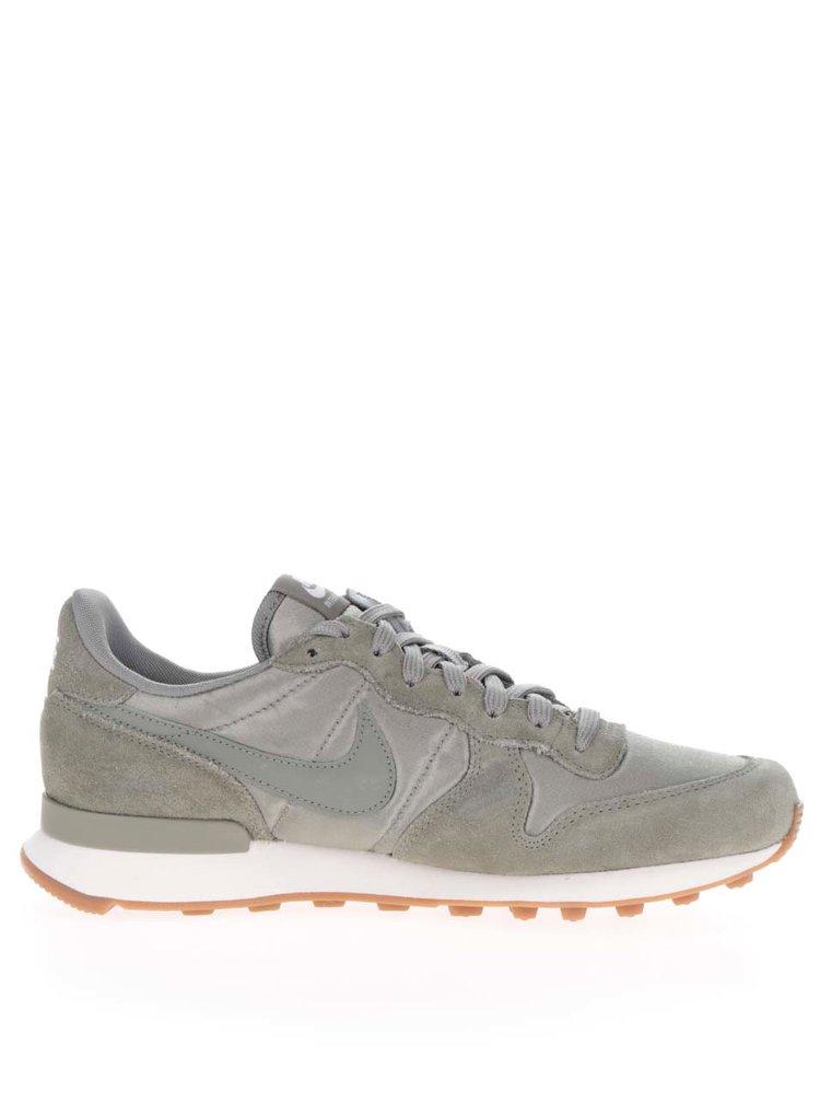 Pantofi sport verzi pentru femei Nike Internationalist