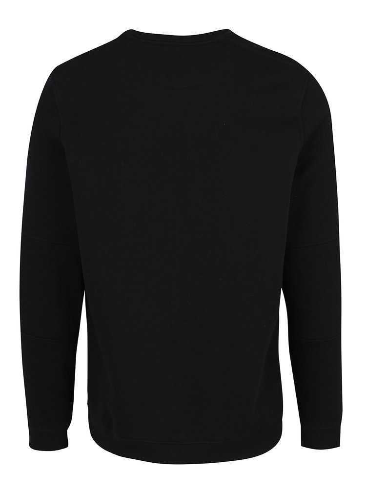 Bluza neagra cu buzunar Jack & Jones Pete