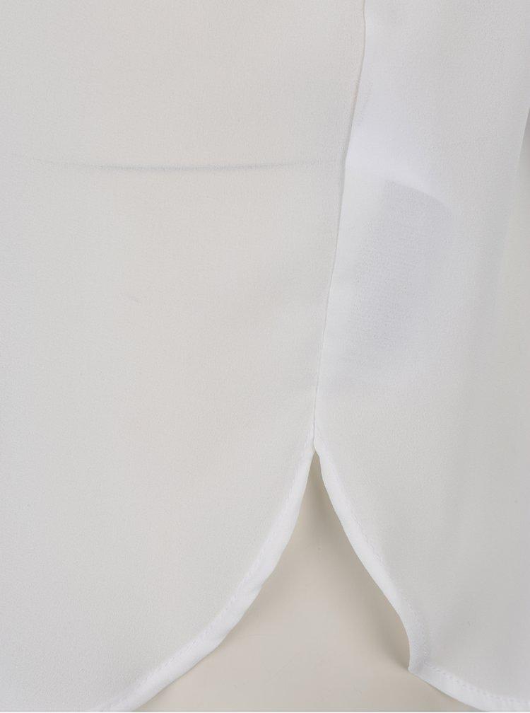 Camasa asimetrica crem VILA Lucy