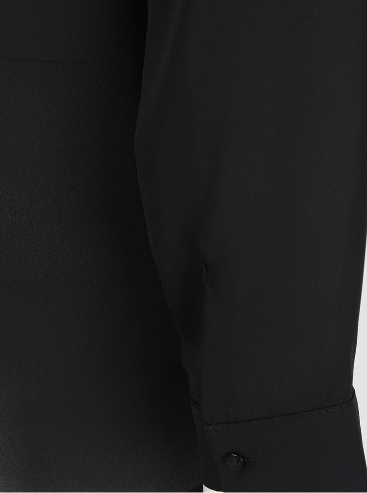 Camasa asimetrica neagra  VILA Lucy
