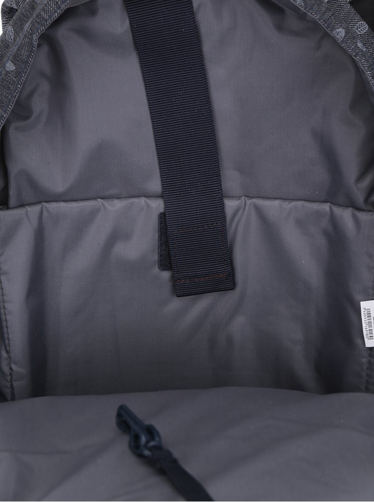 Rucsac gri cu imprimeu pentru laptop Eastpack Floid 16 l
