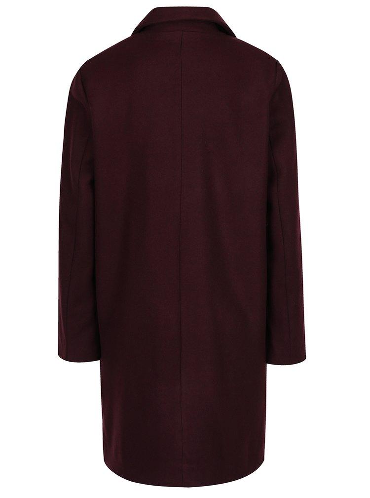 Vínový kabát VILA Camdon
