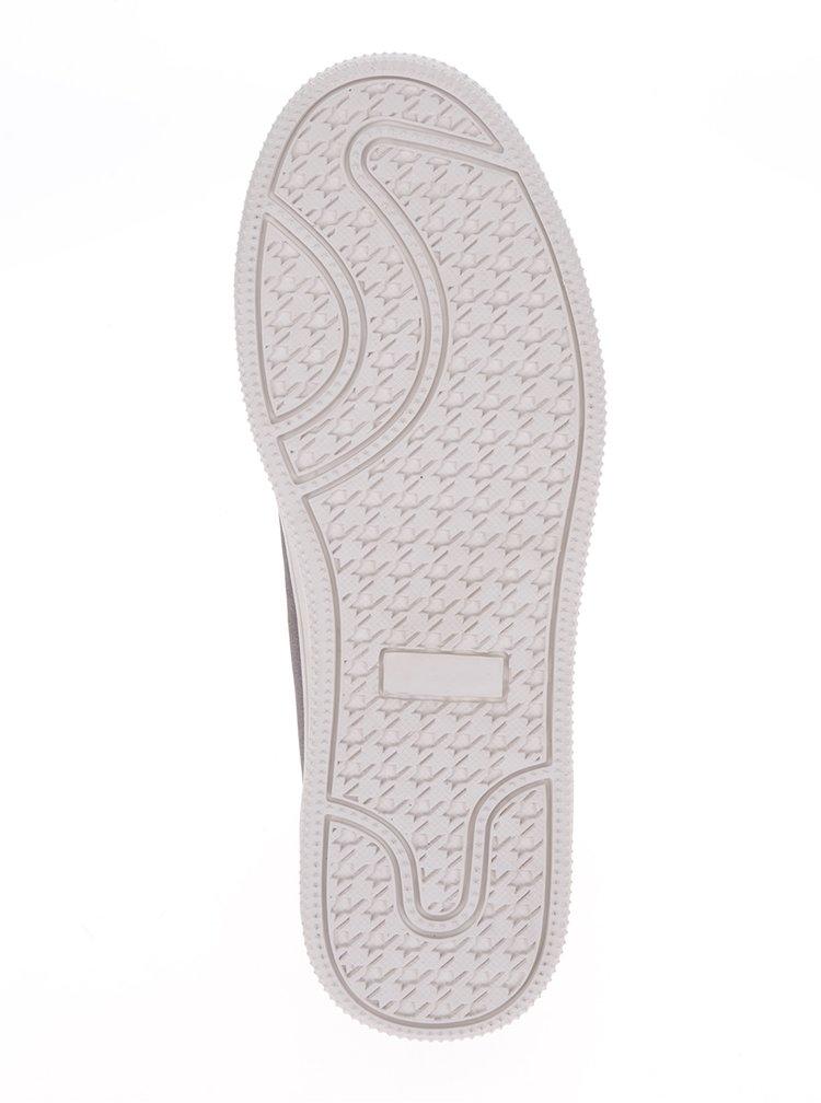 Pantofi sport gri satinat ONLY Shilo