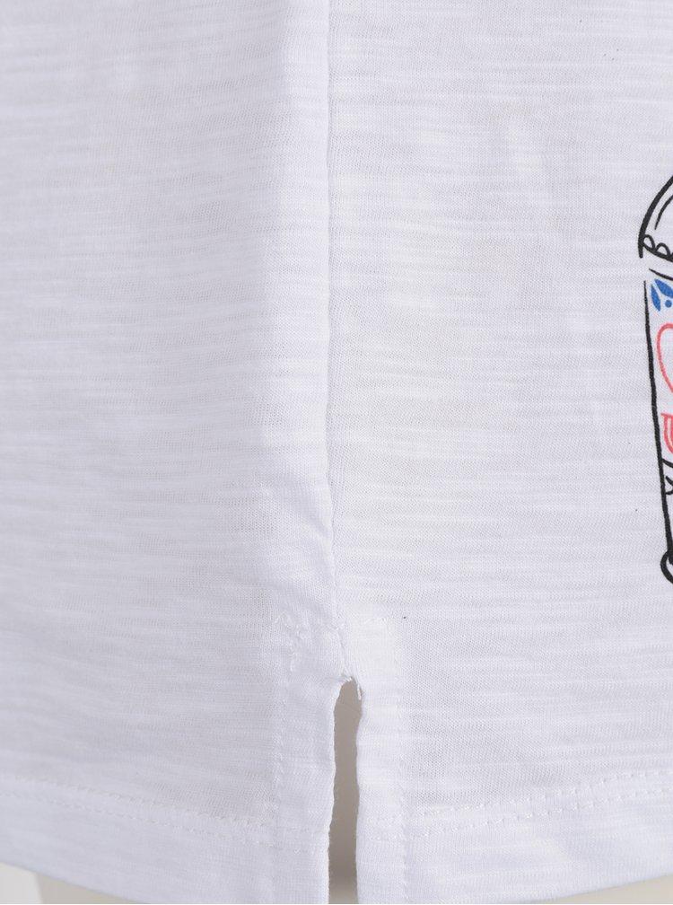 Tricou alb ZOOT Original Summer cu print