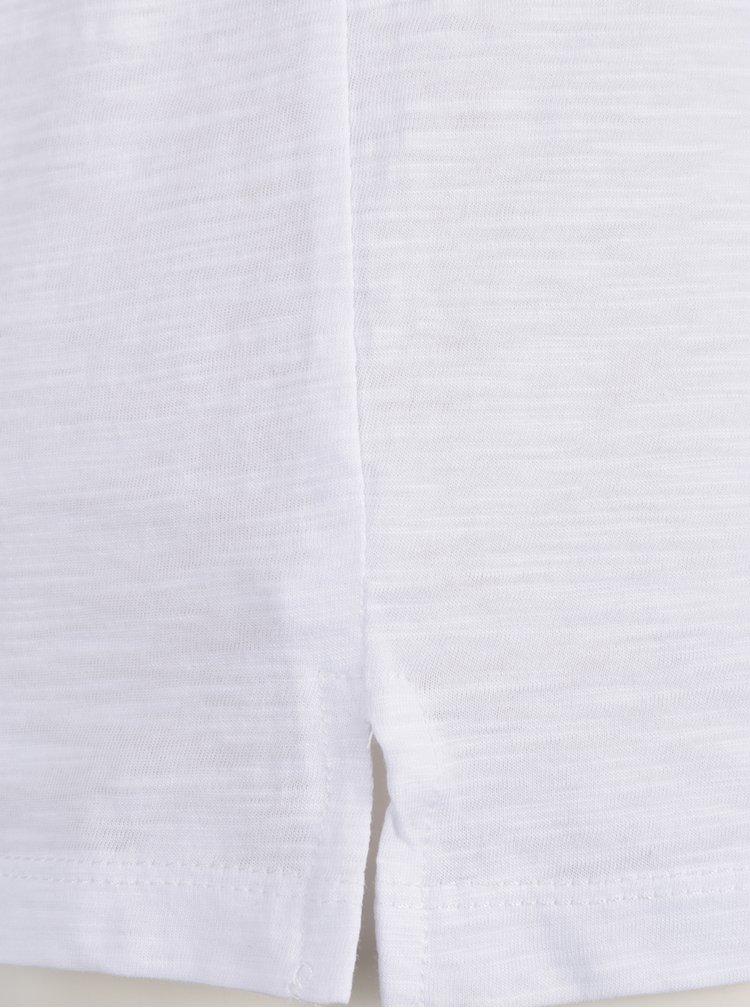 Tricou alb cu text  ZOOT Originál