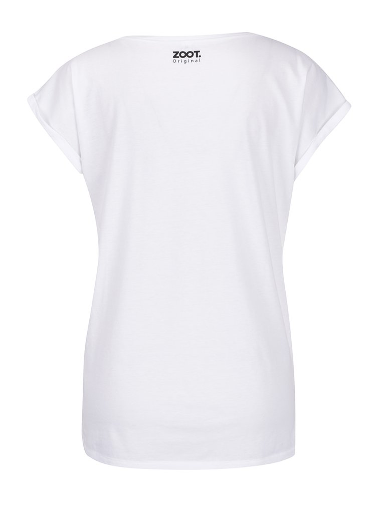Bílé dámské tričko ZOOT Originál Shell We