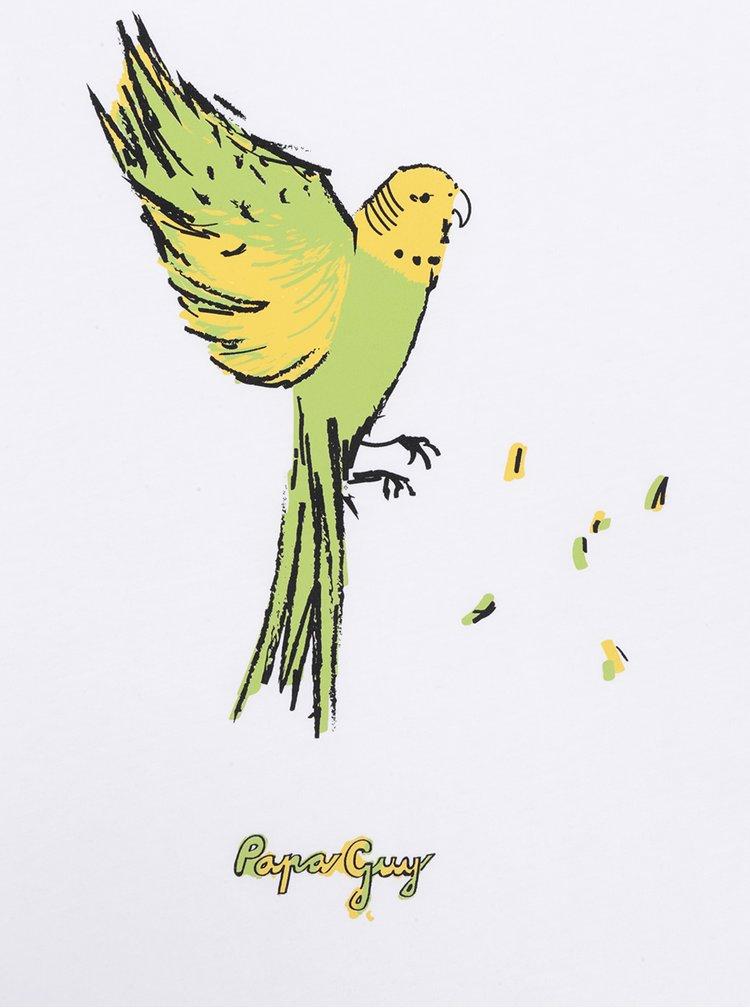Bílé dámské tílko ZOOT Originál Papaguy