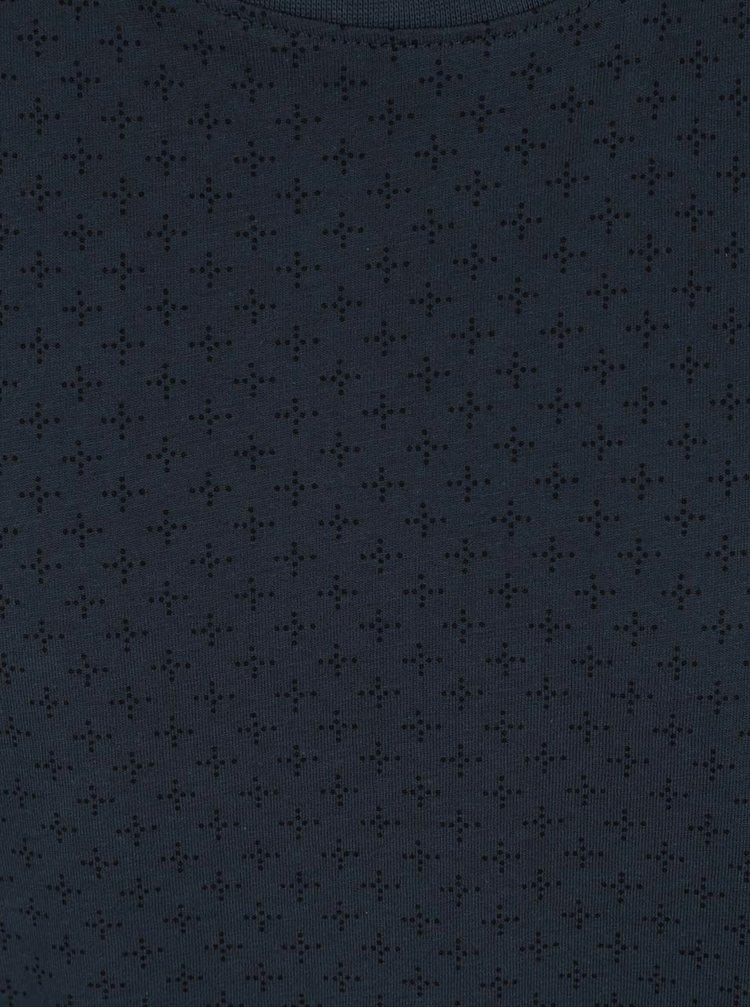 Tmavě modré triko s jemným vzorem ONLY & SONS Mini