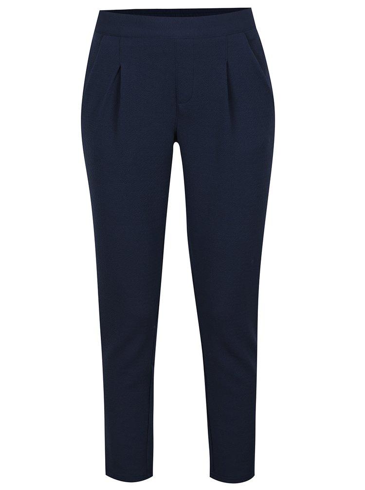 Tmavě modré kalhoty s kapsami Jacqueline de Yong Dazzle