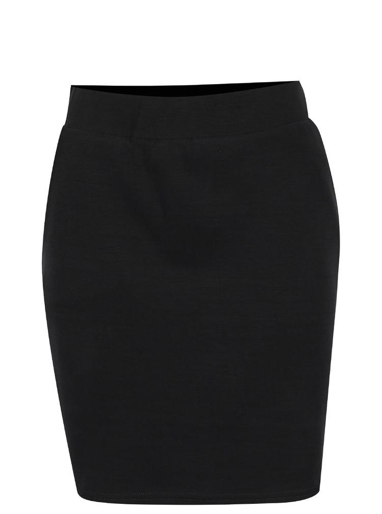 Černá krátká sukně Selected Femme Hilda