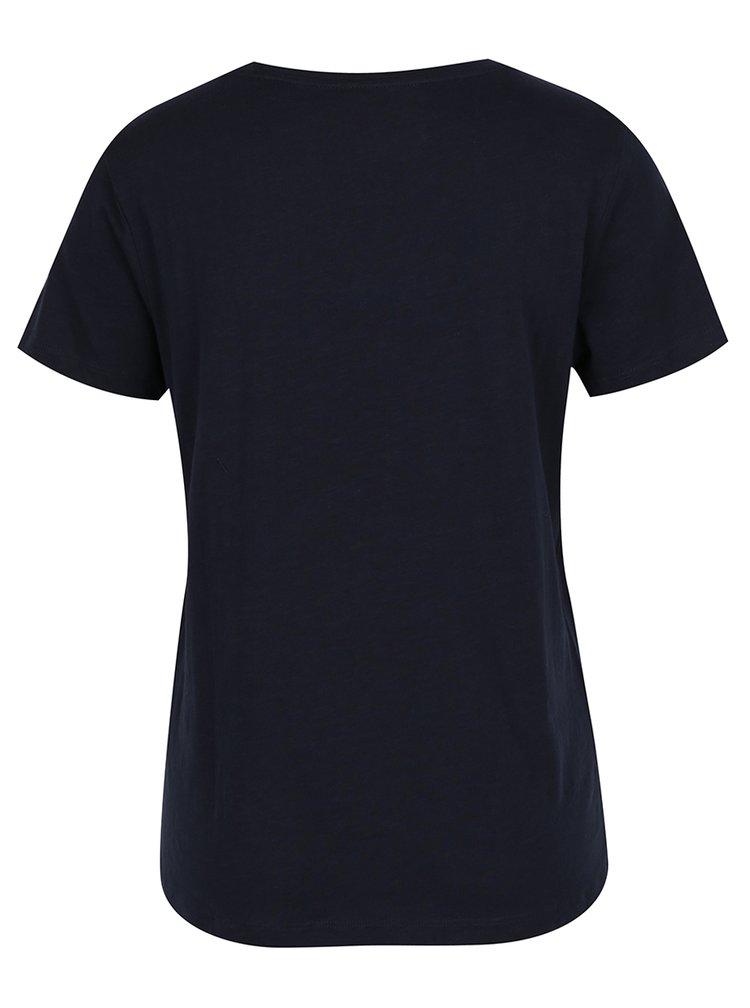 Tricou bleumarin cu mesaj funny ONLY Madison
