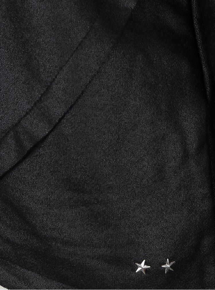 Černá lesklá mikina ONLY Anemone