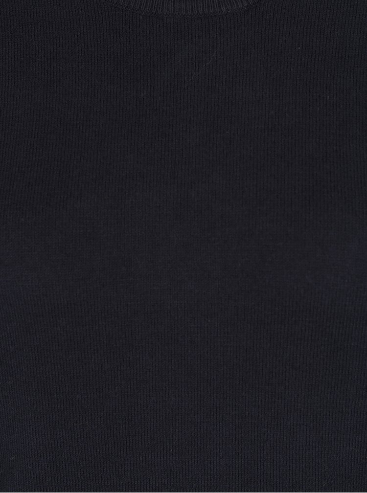 Pulover bleumarin cambrat VILA Bekka