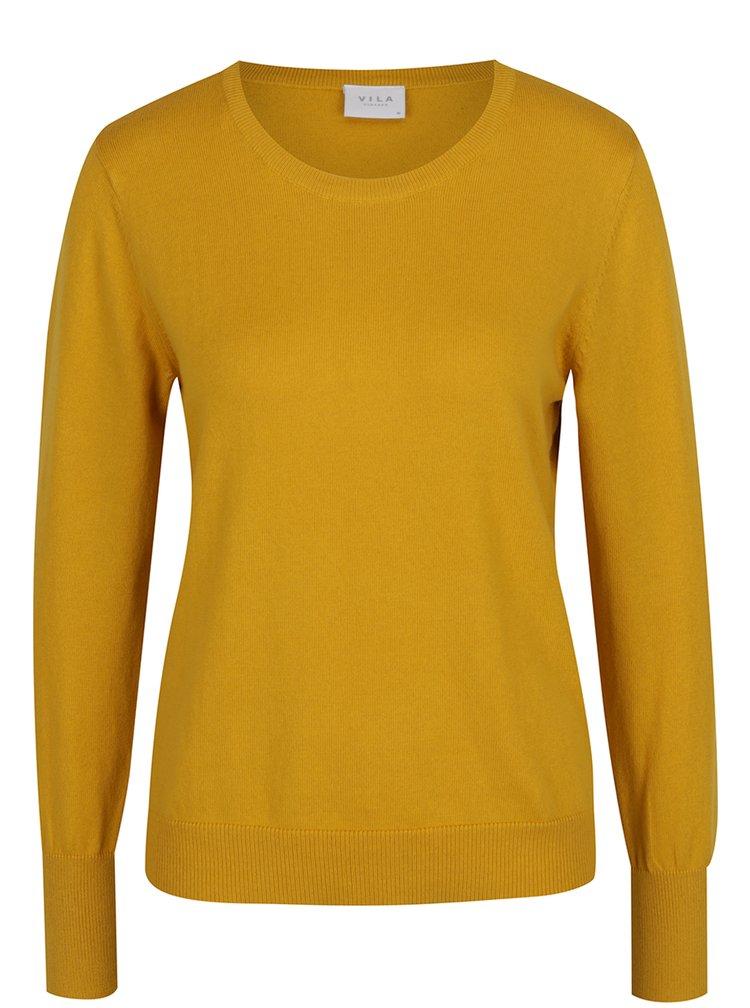 Žlutý svetr VILA Bekka