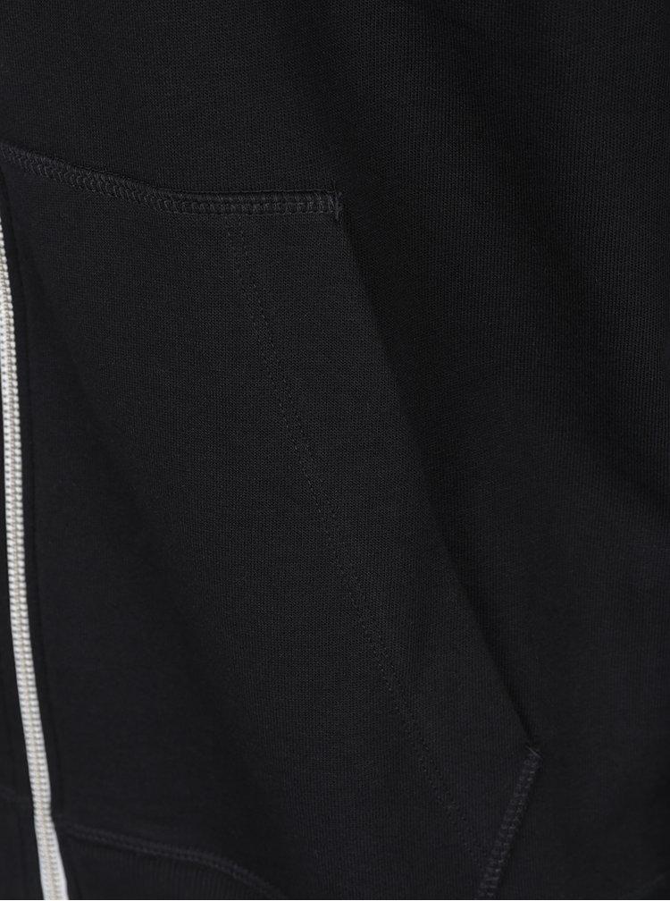 Černá mikina na zip Jack & Jones Holmen