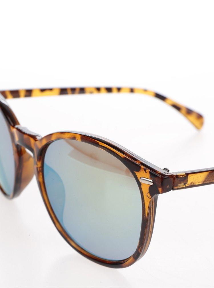 Ochelari de soare animal print lentile verzi - Jack & Jones Trend II.