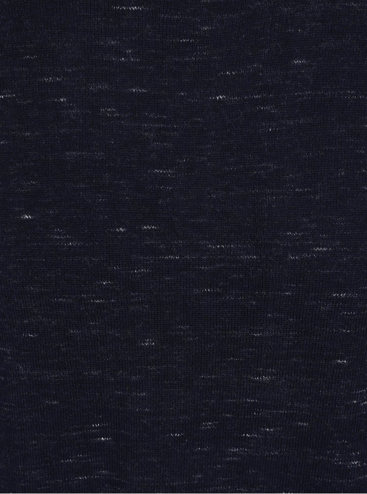 Pulover bleumarin melanj Jack & Jones Mikey