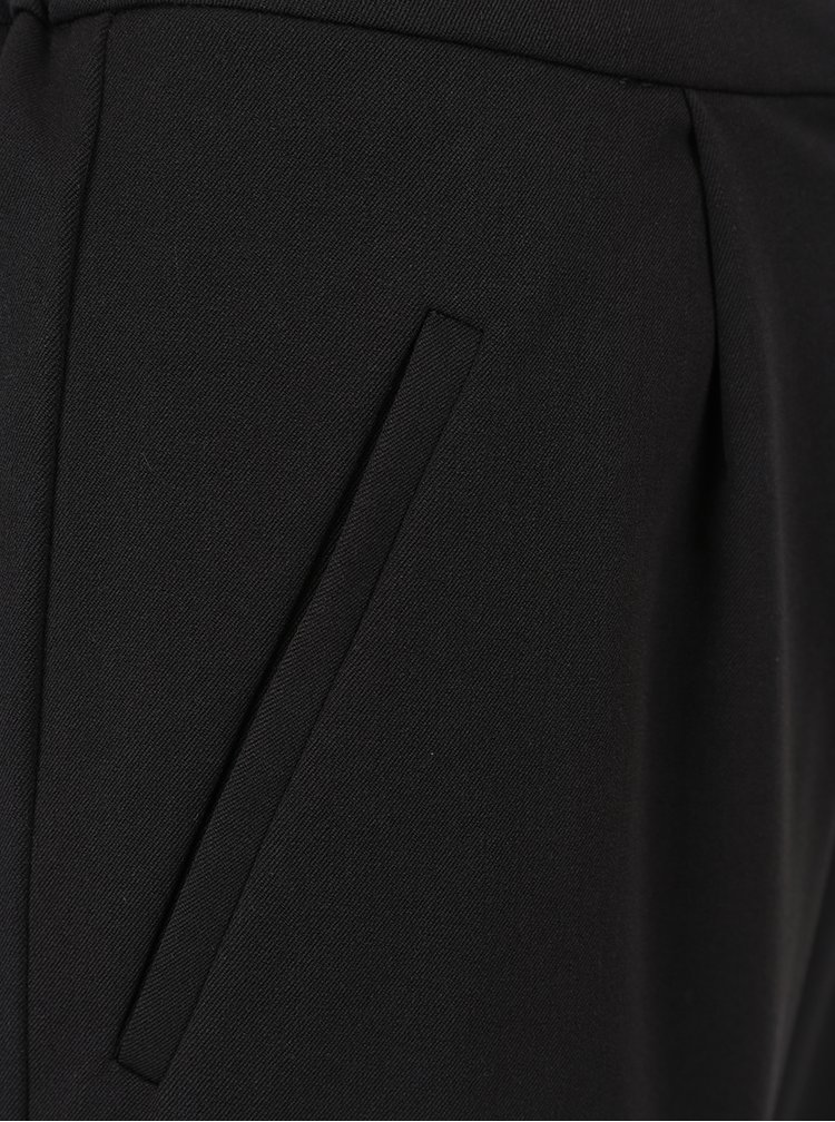 Černé kalhoty s kapsami VILA Rena