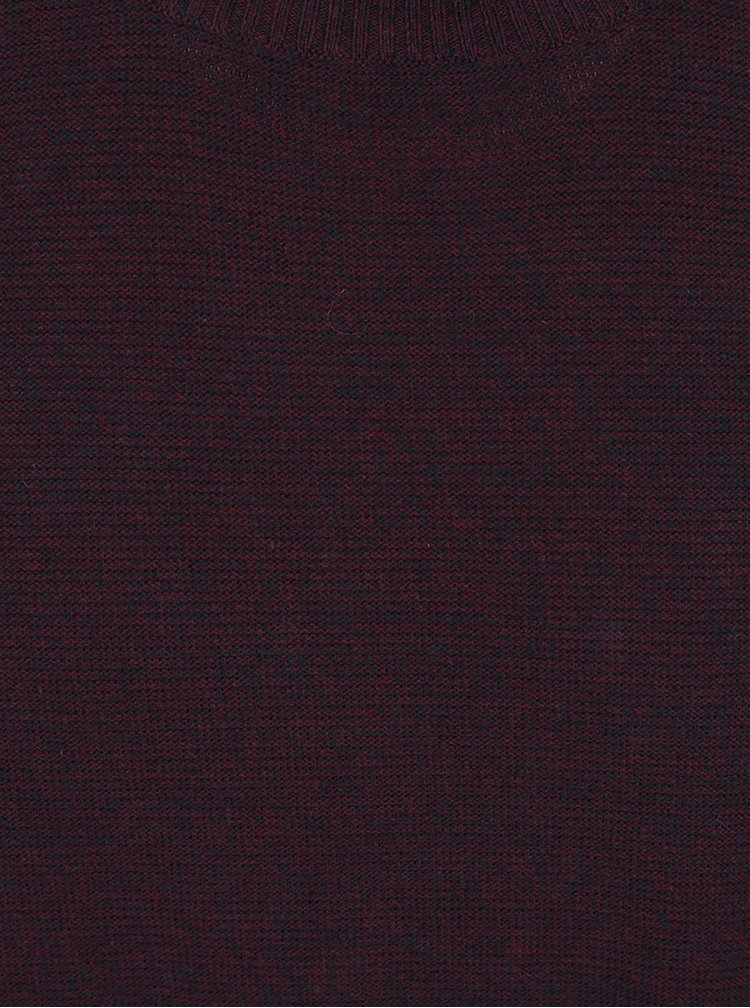 Pulover roșu burgundy Jack & Jones Blend