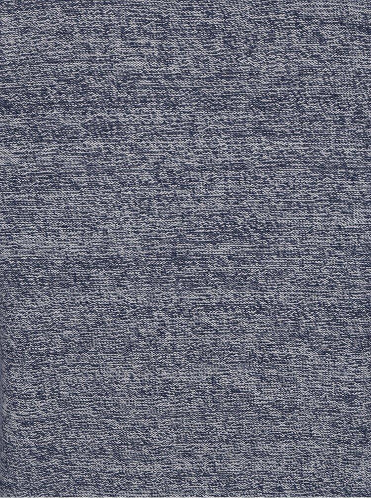 Pulover în nuanțe de bleumarin și crem Jack & Jones Blend