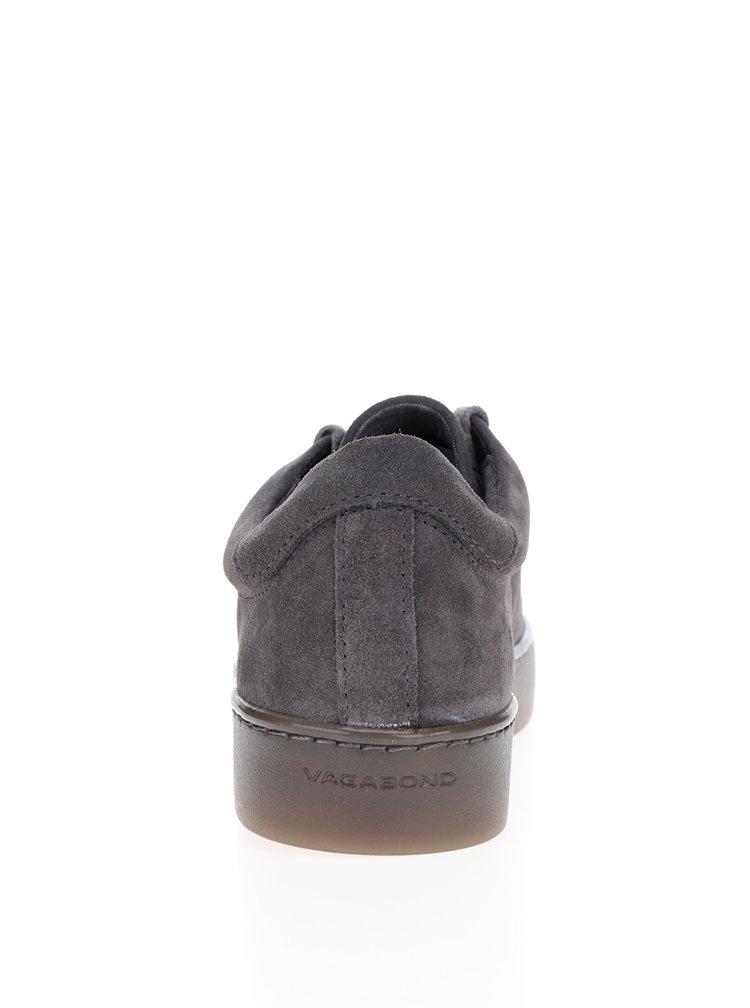 Pantofi sport gri din piele intoarsa Vagabond Zoe