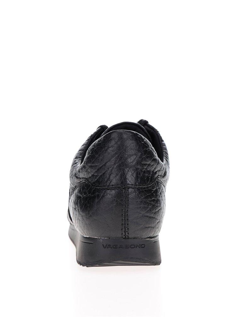 Pantofi sport negri din piele Vagabond Kasai