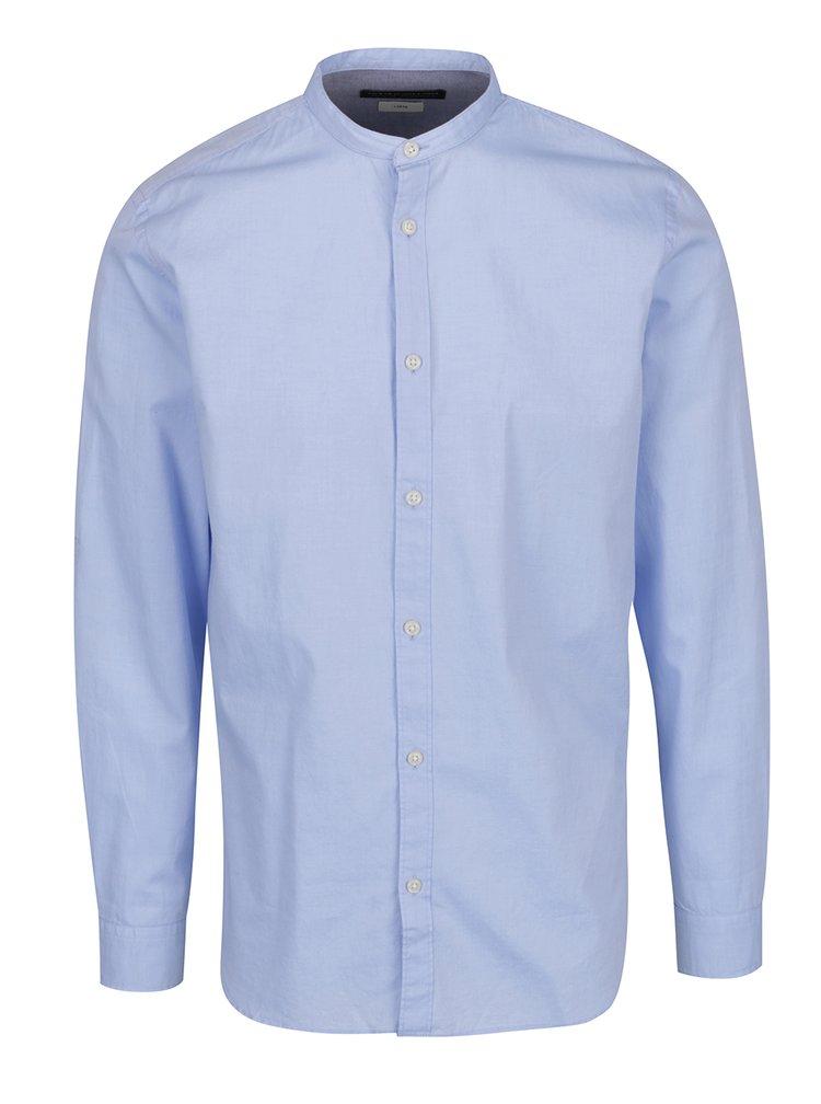 Světle modrá slim fit košile Jack & Jones Premium Sao Paulo