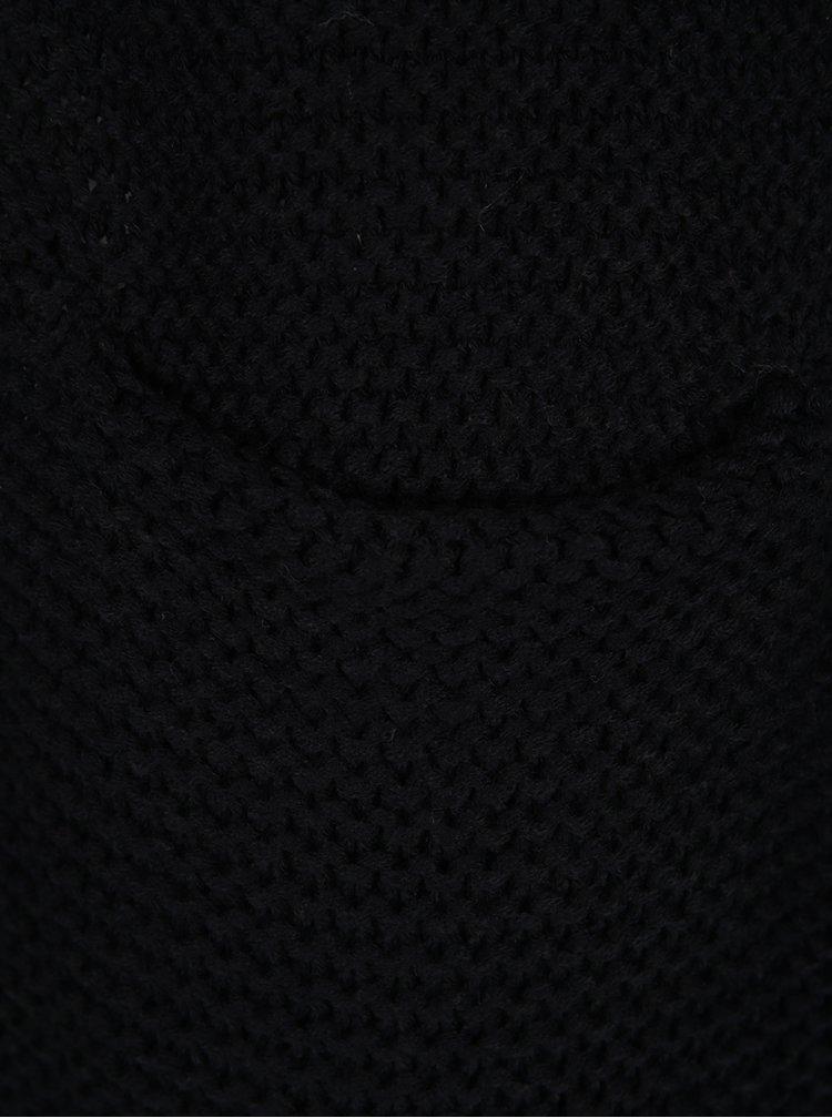 Cardigan negru fara inchidere VERO MODA