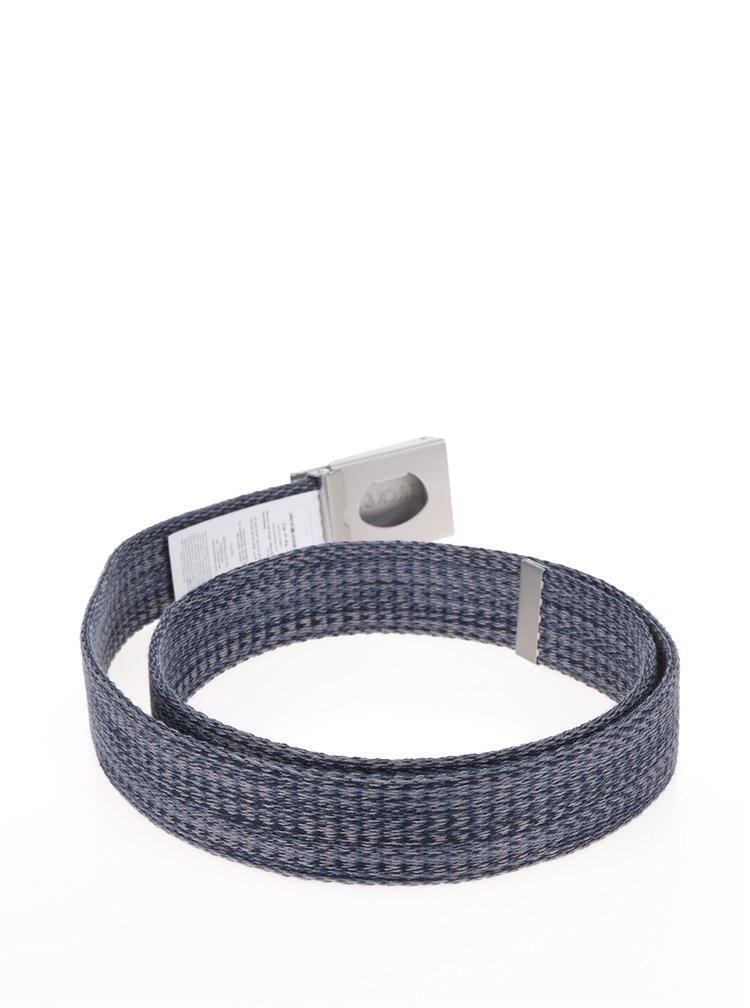 Šedo-modrý žíhaný pásek Jack & Jones Melange