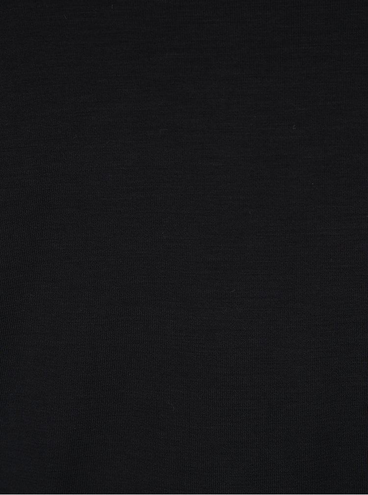 Černé basic tričko VERO MODA Ava
