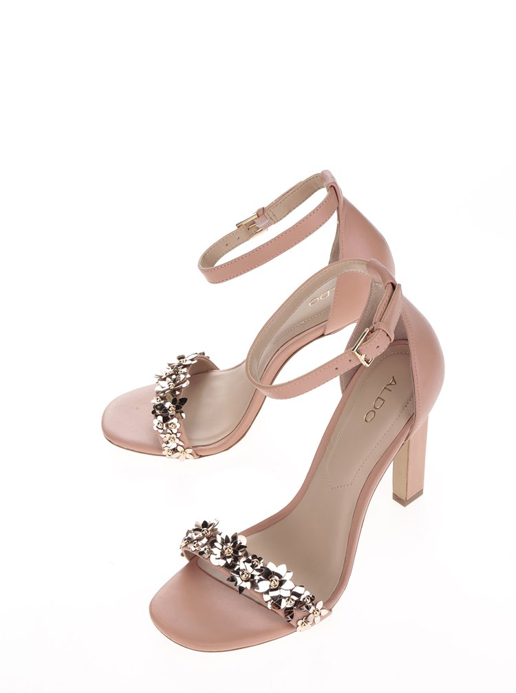 Staroružové sandále na vysokom podpätku ALDO Milaa