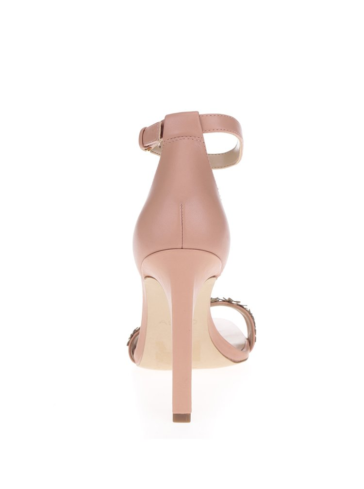 Starorůžové sandálky na vysokém podpatku ALDO Milaa