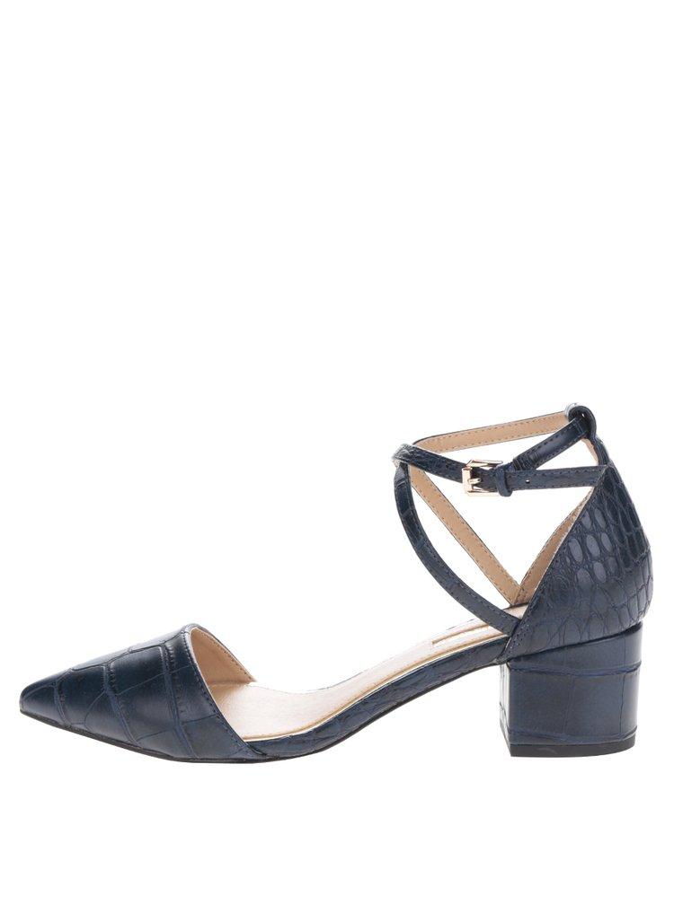 Pantofi bleumarin cu bareta - Miss KG Ava